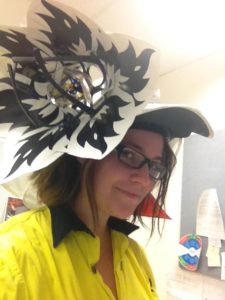Melbourne Cup Hardhat Crafting