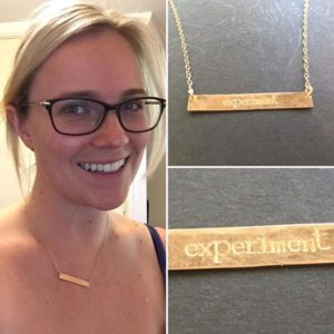 experiment necklace