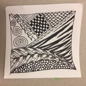 Zentangle example